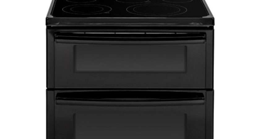 Dfbb Black Electric Smoothtop Double Oven