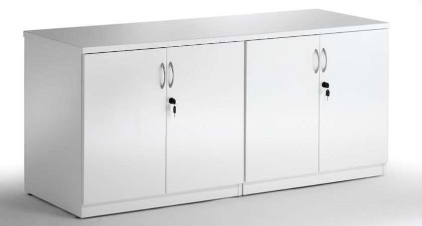 Diamond High Gloss Credenza Unit Office Furniture Warehouse