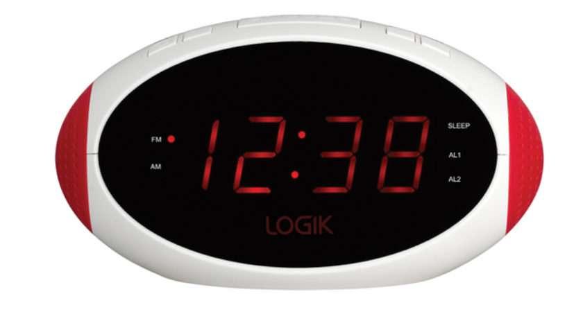 Digital Radio Alarm Clock Currys Goji Smoothie Dab