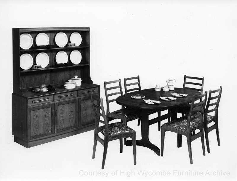 Dining Group Courtesy High Wycombe Furniture Archive