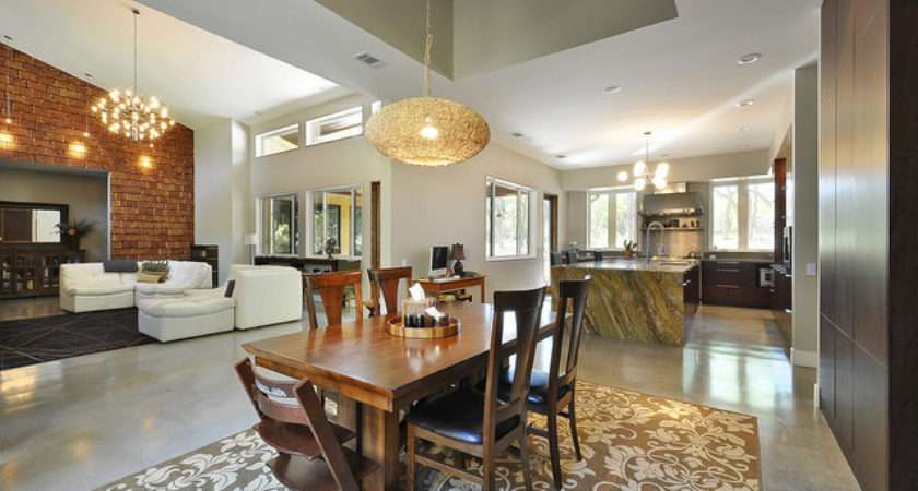 Dining Kitchen Great Room Relationship Contemporary