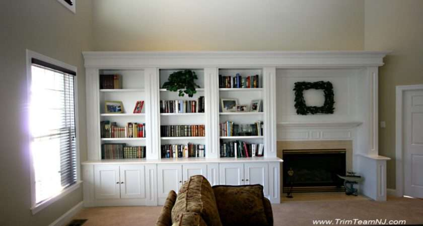 Dining Room Built Wall Units