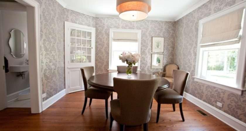 Dining Room Designs Damask Patterns Interior
