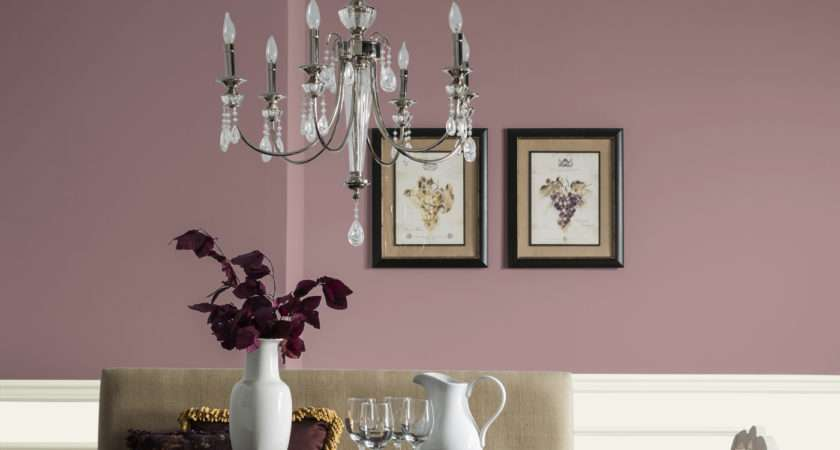 Dining Room Dusty Mauve Rooms Color