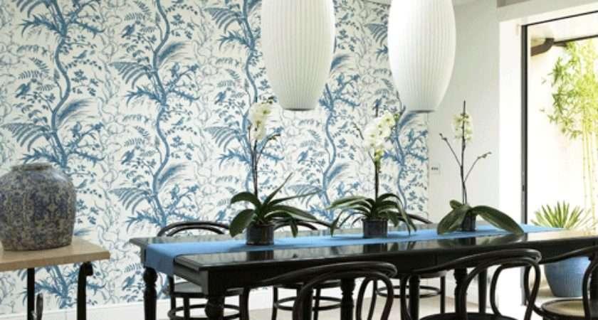 Dining Room Ideas Grasscloth