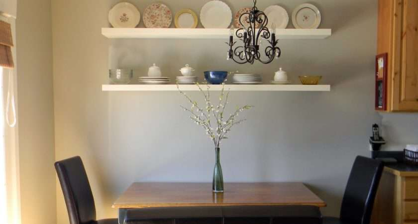 Dining Room Shelves Organize Decorate Everything