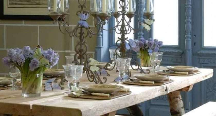 Dining Room Table Setting Ideas French Country