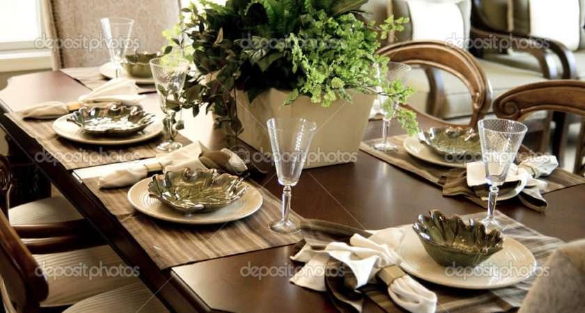 Dining Table Setting Paulmhill