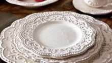 Dinnerware Vintage Style Sets Retro