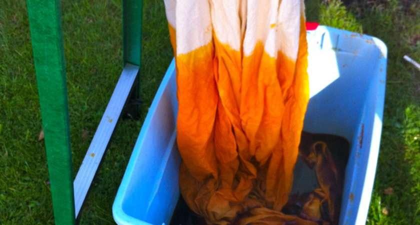 Dip Dye Fabric Pomp Circumstance