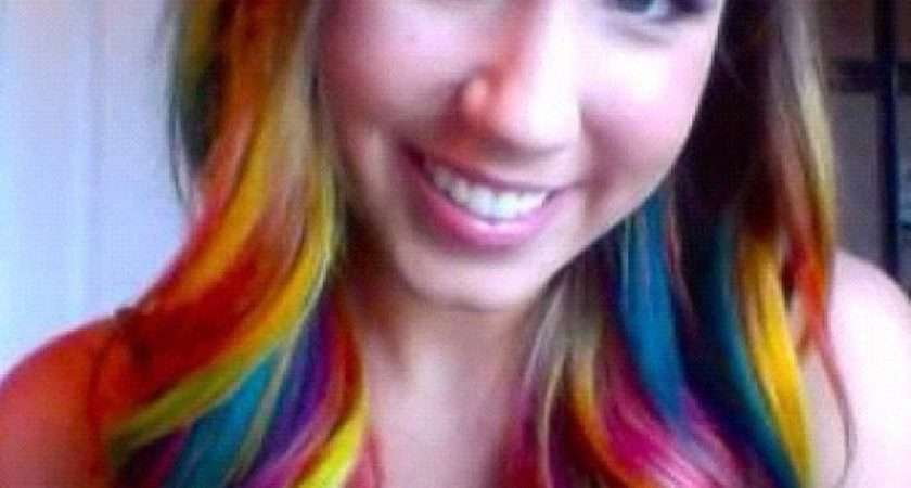 Dip Dye Hair Patterns