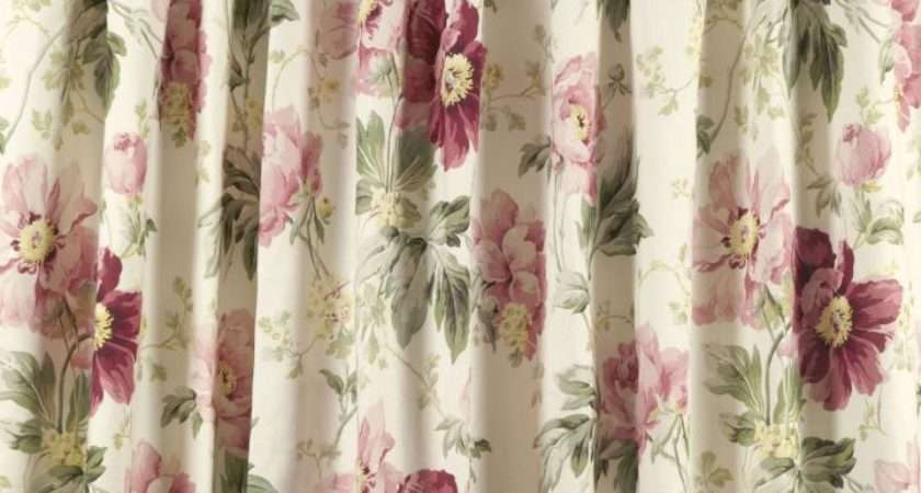 Discontinued Curtain Fabric Laura Ashley Gopelling