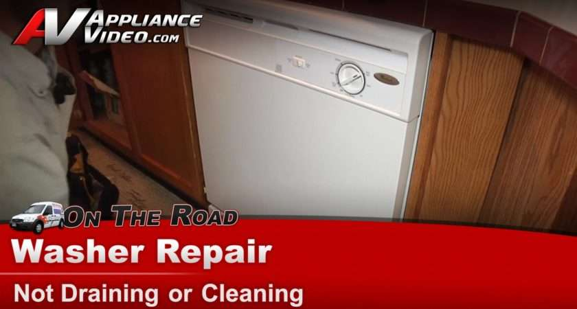 Dishwasher Not Draining Hotpoint Aquarius Dwf