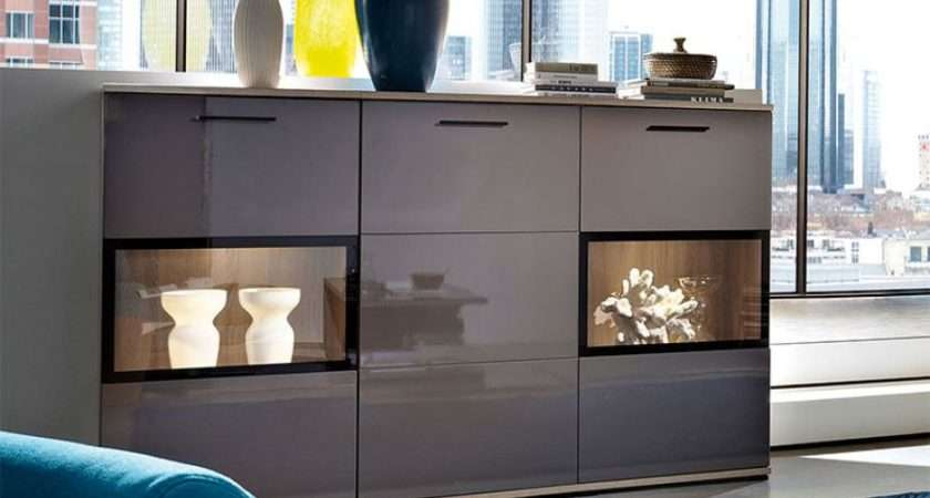 Display Cabinets Living Room Furniture Contemporary