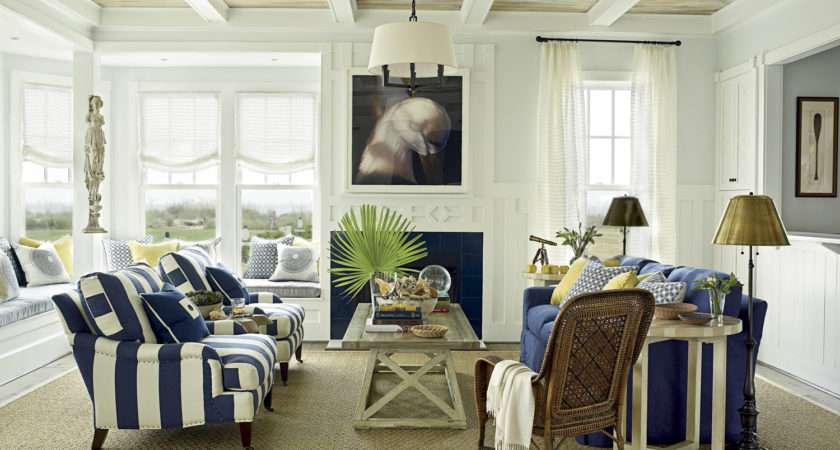 Distressed Painted Ceiling Finish Coastal Living Ultimate Beach