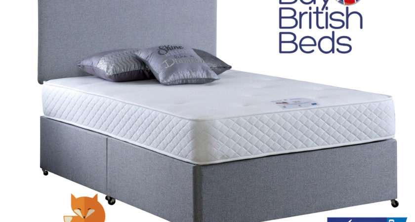 Divan Bed Mattress Double Deluxe Vogue Repose