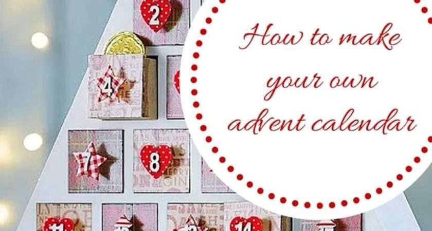 Diy Christmas Advent Calendar Make Your Own