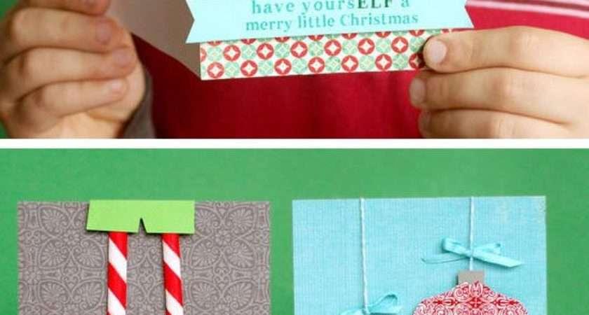 Diy Christmas Card Ideas Make Holiday Season