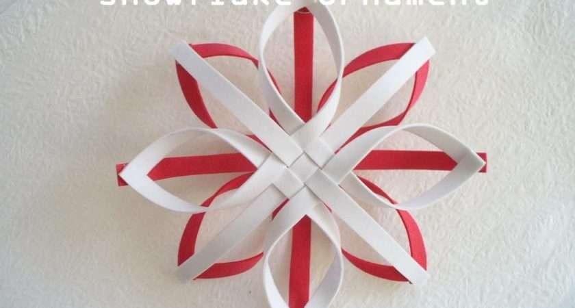Diy Christmas Ornament Snowflake Bead Cord
