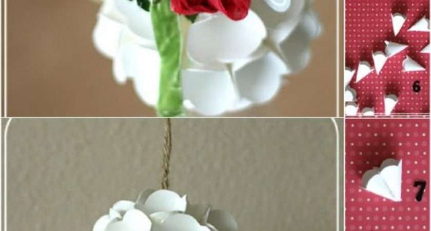 Diy Christmas Ornaments Made Paper