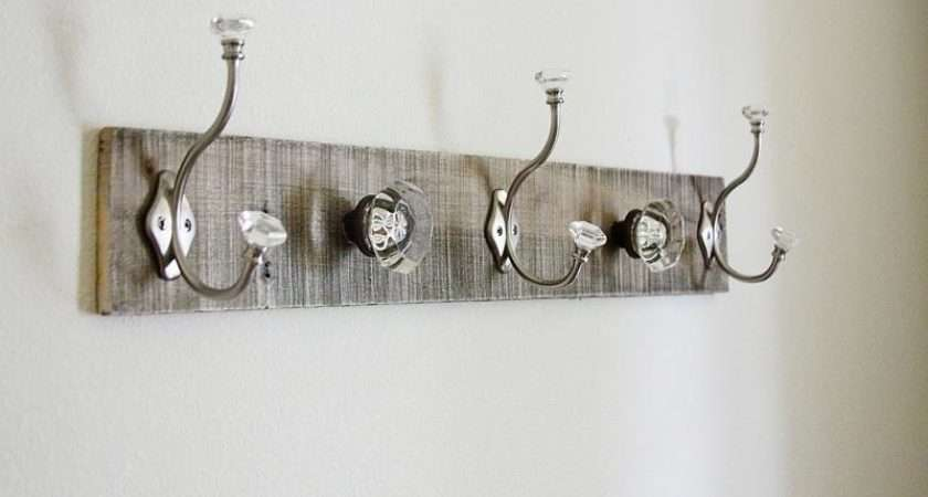 Diy Coat Rack Beautiful Silver Pallet Design Stroovi