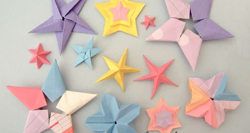 Diy Craft List Origami Stars
