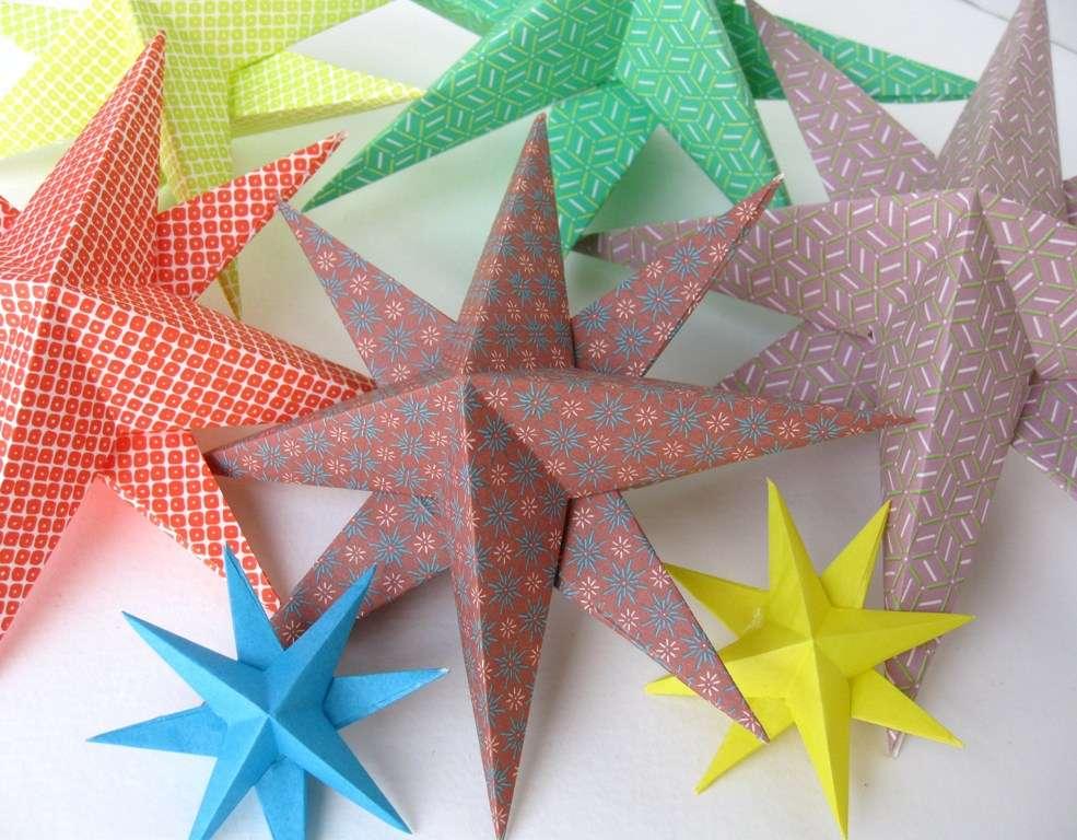 Diy Decorations Paper Stars Make Birthday Wish