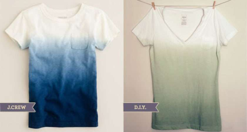 Diy Dip Dyed Shirt Wit Whistle