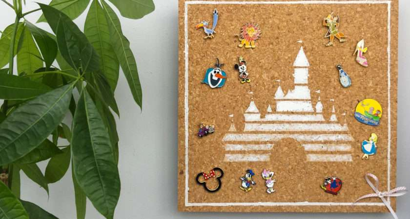 Diy Disney Pin Display Board Living