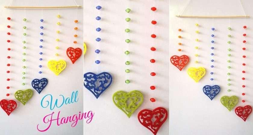 Diy Easy Wall Hanging Craft Ideas Tutorials