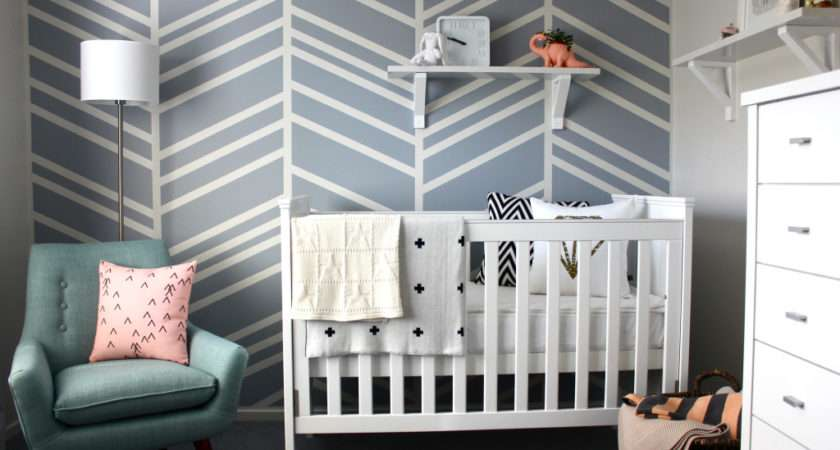 Diy Feature Wall Baby Nursery Project
