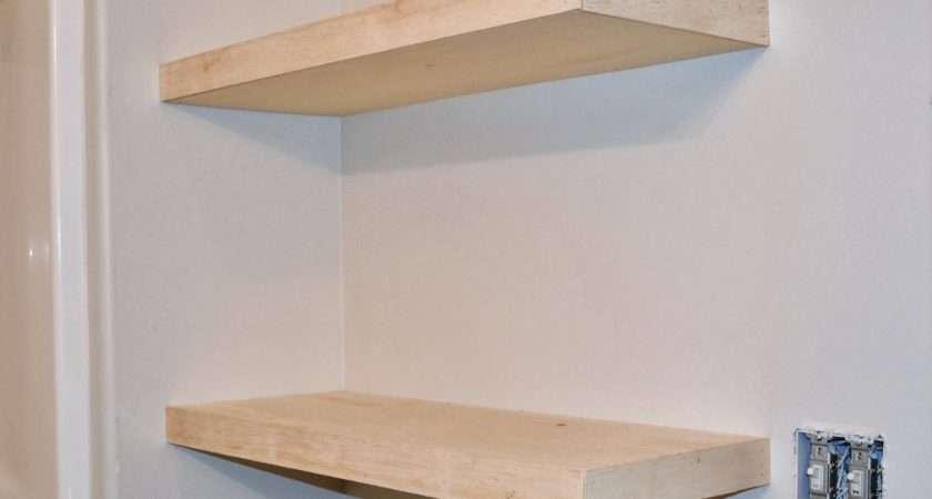 Diy Floating Shelves Great Storage Solution