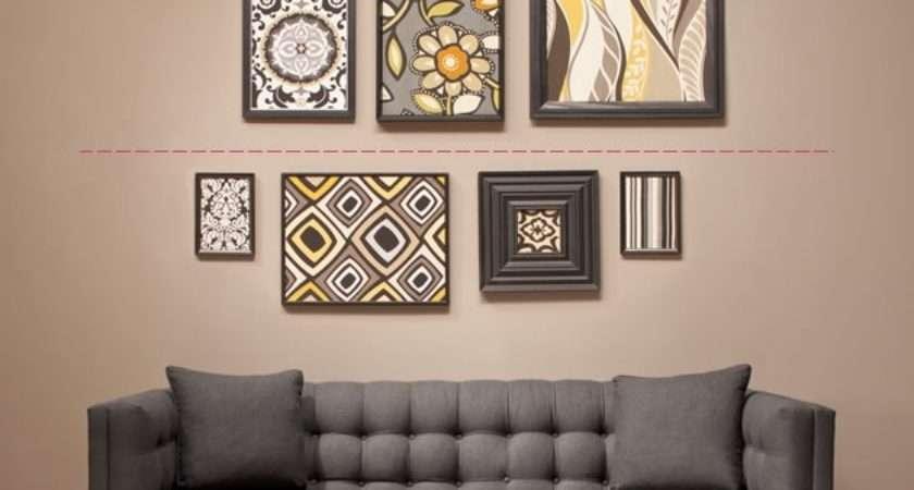 Diy Hang Arrange Wall Art