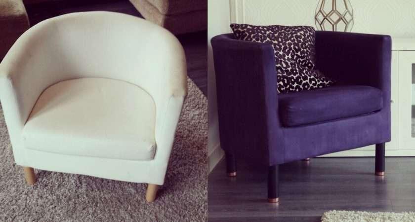 Diy Ikea Tub Chair Makeover Makery Bloglovin