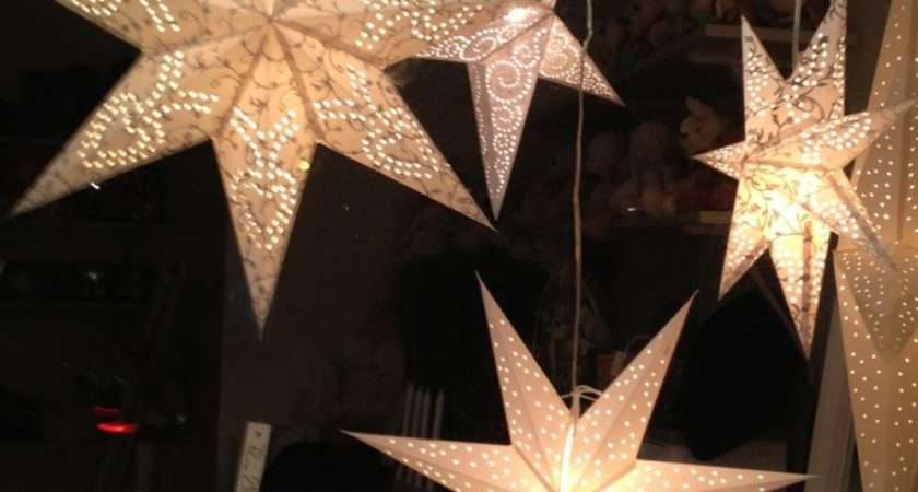 Diy Learn Make Christmas Paper Star Lights Tree