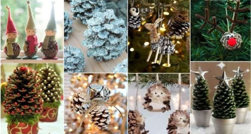 Diy Pine Cone Crafts Decorate Your Home Design