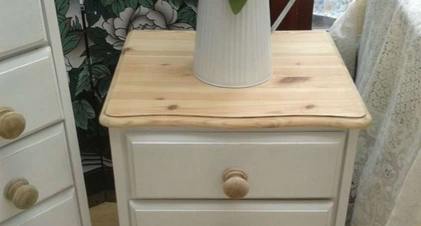 Diy Shabby Chic Bedside Table Blogbeen