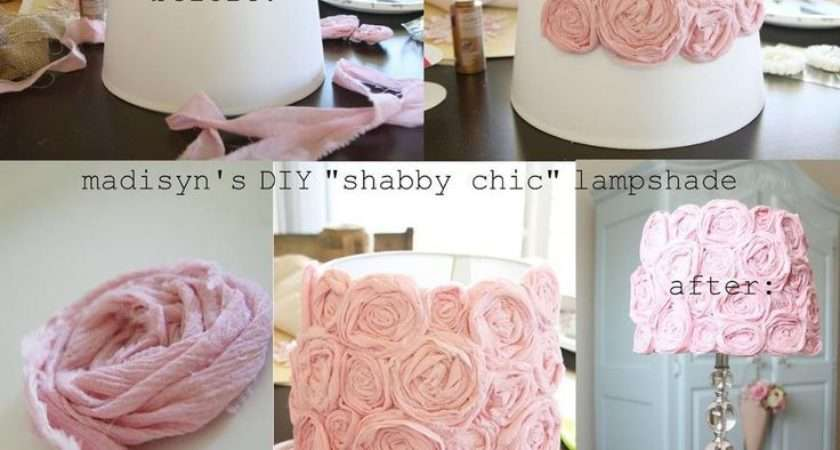 Diy Shabby Chic Lamp Makeover Photos