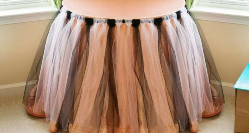 Diy Tulle Table Skirt Ehow
