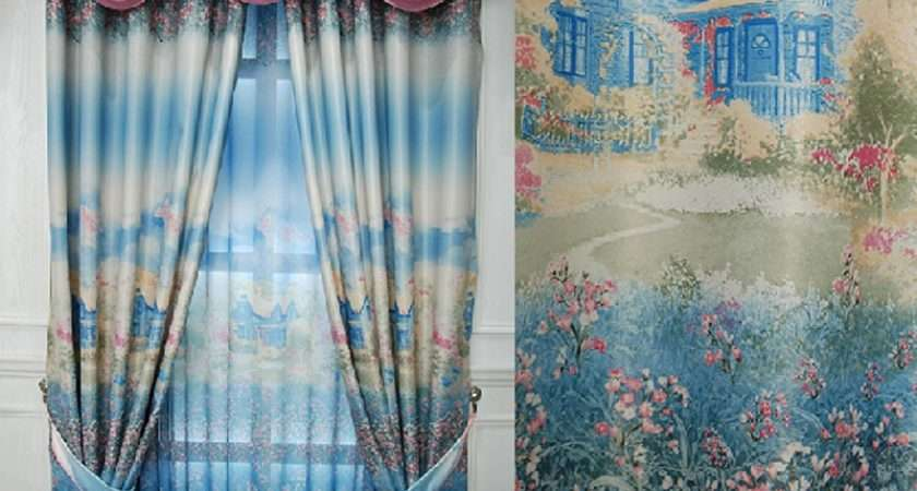 Diy Watercolor Curtains Tulip Tie Dye Youtube Sheer