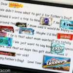 Doesn Love Candy Bar Card