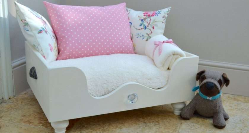 Dog Bed Cat Made Cath Kidston Fabric Reduced Price