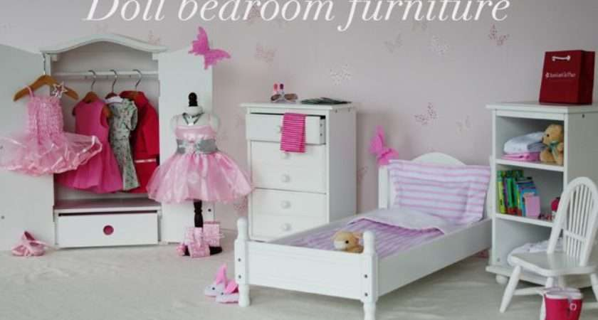 Doll Bedroom Furniture Stuff Girls Pinterest
