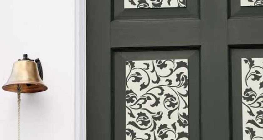 Door Decorations Stencils Paint Pattern