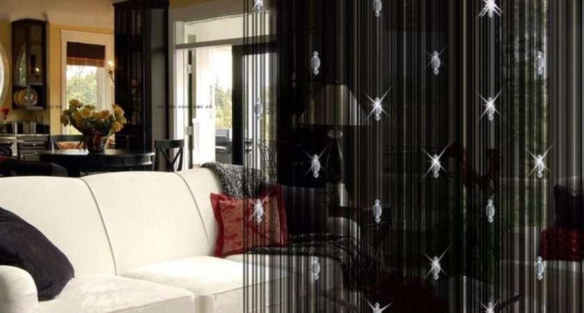 Door Window Panel Divider Room String Curtain Decorative