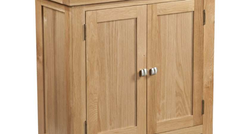 Dorset Dining Occasional Small Oak Cabinet