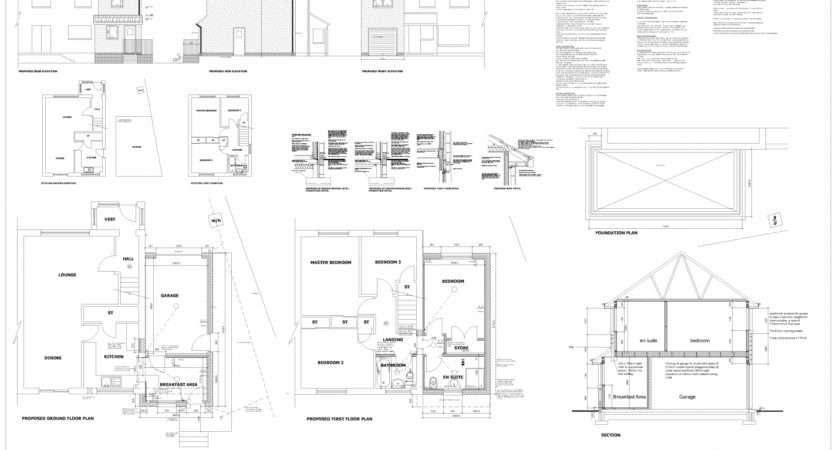 Double Storey Extension Plans Dunfermline Edinburgh