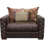 Downton Leather Chair