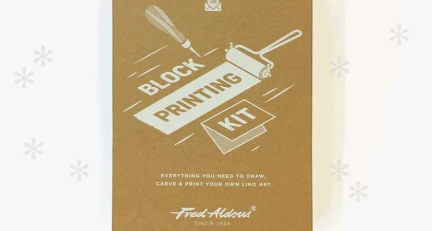 Draw Carve Print Your Own Christmas Cards Fred Aldous