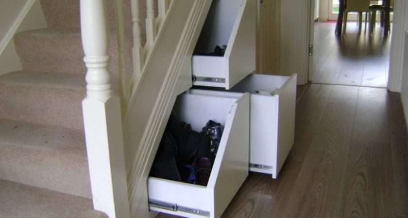 Drawers Under Stairs Bing Home Pinterest